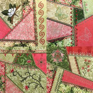 Crazy Quilt Series 4 Part 1