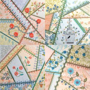 Crazy Quilt Series 4 Part 2 MEGA Hoop