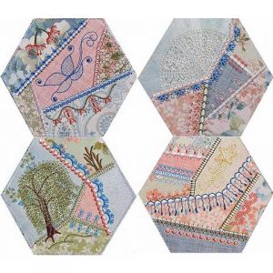Crazy Quilt Series 1 Part 2 Hexagons