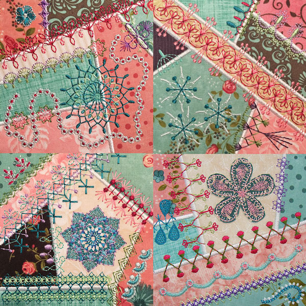 Crazy Quilt Series 4 Part 3