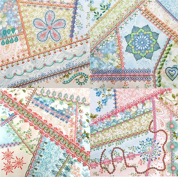 Crazy Quilt Series 4 Part 3 MEGA Hoop