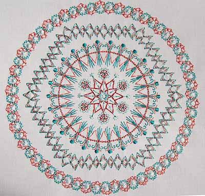 Hexagon 6 8x8 Hoop