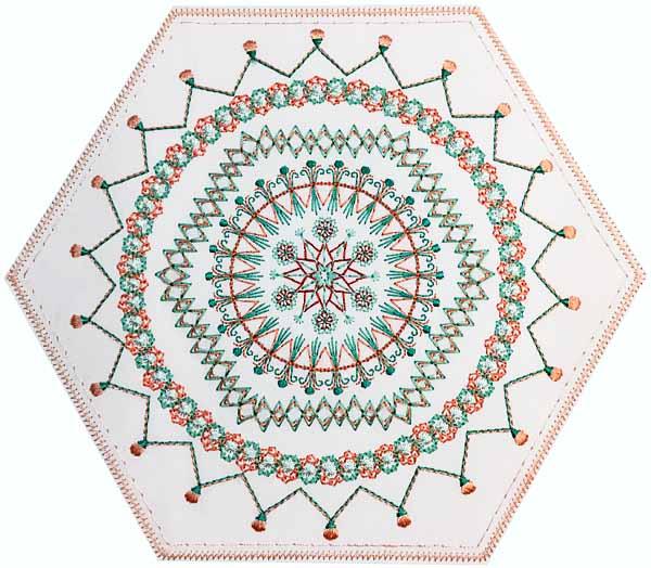 Hexagon 6 mega Hoop